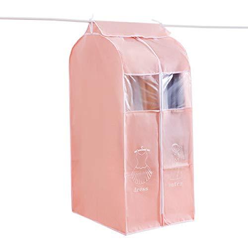 Grea tridimensionale carino vestiti stampati copertura della polvere cappotto casa appesi vestiti sacchetto sacchetto di polvere vestiti set-rosa, 50 * 60 * 108 cm