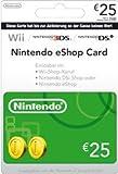 Nintendo Eshop CARD 25€ Carte de Jeu Console compatible:Compatible Multi Plateformes