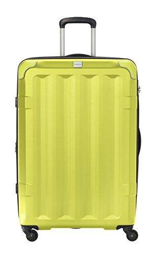 Travelite Corner 4 Rollen Hartschalenkoffer, 75 cm, 110 L, Limone