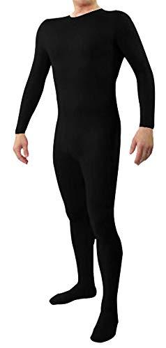Schwarze Spandex Bodysuit Kostüm - Icegrey Zentai Lycra Spandex Kostüm Bodysuits
