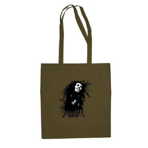 Marley Splash - Stofftasche / Beutel, Farbe: oliv