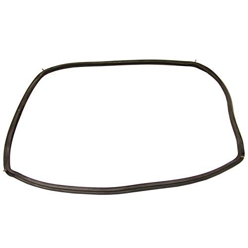 Spares2go horno puerta sello junta + clips de esquina para AEG Horno Cocina (450x 350mm)