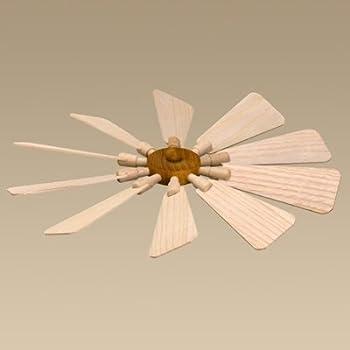 19 cm NEU Pyramide Tischpyramide Weihnachtspyramide Ersatzteil Flügelrad  Ø ca