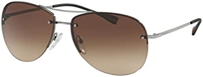 Prada Sport Gafas de Sol Mod. 50RS 5AV5M059 (59 mm) GUNMETAL WITH BROWNGRADIENT LENS