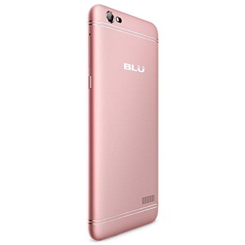 BLU GRAND XL LTE - 5 5  HD Smartphone Libre -16GB   2GB RAM - Dorado Rosa