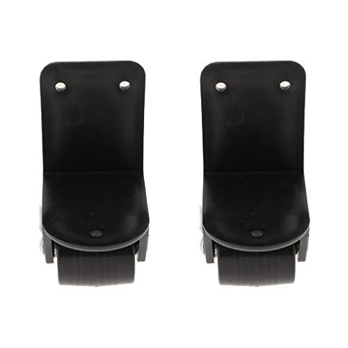 31SB qG0L7L - perfk Premium Ruedas Giratorias de Plástico y Metal para Maletas Repuestos de Recambio