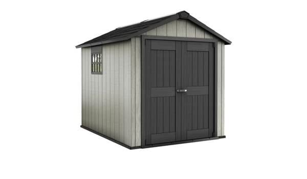 Keter Apex Paintable Plastic Garden Shed - 7 x 9ft : Amazon