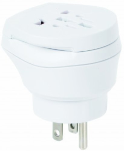 Monde ensemble de 2–adaptateur secteur de voyage pour madère de trinidad-et-tobago pour prises avec prise de terre taille euro 2 broches et 3 broches prise d'alimentation secteur-pT - 30–travel plug adapter madeira tT trinidad and to tobago)