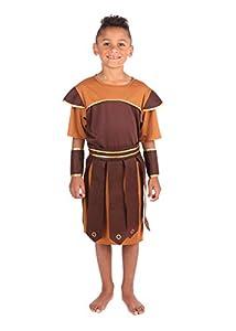 Bristol Novelty Traje Soldado Romano (XL) Edad 9-11 años