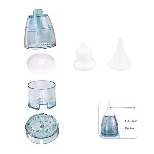 DEYACE Baby Nasensauger, Elektrischer Nasenreiniger mit LCD - Zubehör