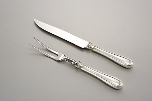 Sheffield Italia CARVING KNIFE English style - art. 515161 - Lan. 32,5 cm - Bre. 2,5 cm - Royal Queen by Varotto & Co.