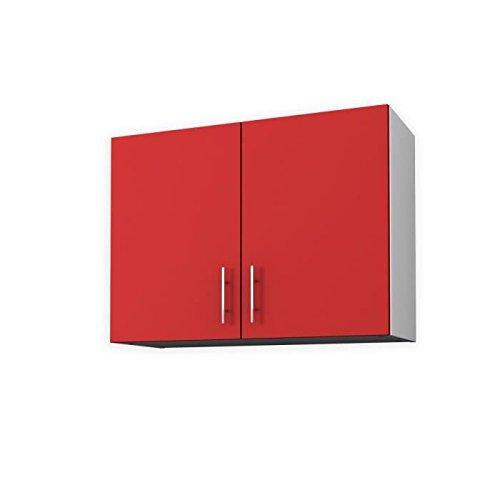 OBI Meuble haut de cuisine 80 cm - Rouge mat