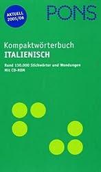 PONS Kompaktwörterbuch Italienisch, m. CD-ROM, Ausgabe 2007/08