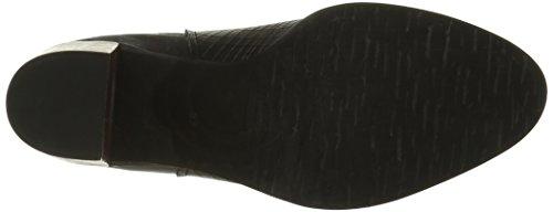 Un Matin d'Eté 1valeria, Bottes Chelsea Femme Noir (V Merengo Cut Squar/ V Mer Noi)