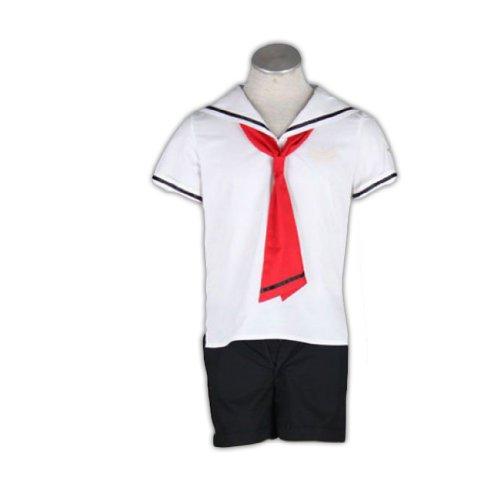 Dream2Reality Cardcaptor Sakura Cosplay Kostuem -Tomoeda Elementary School Summer School Uniform Maennchen - Cardcaptor Sakura Cosplay Kostüm