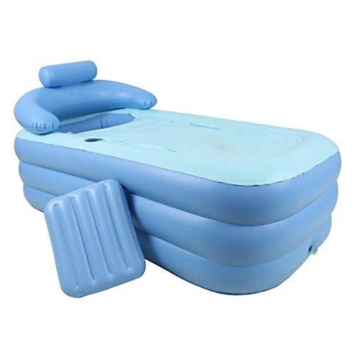 Aufblasbare Badewanne PVC Tragbare SPA Umweltbadewanne mit elektrischer Luftpumpe für einen Erwachsenen