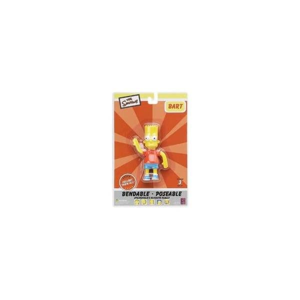 The Simpsons : Bart Simpson 4 inch Bendable Figure 1