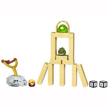 [Import Anglais]Star Wars Angry Birds TATOOINE Jenga Battle Pack
