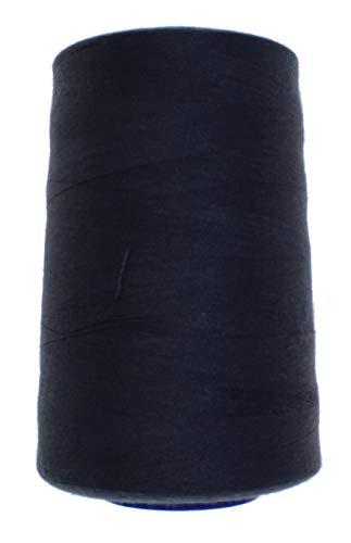Fil à coudre FIM épaisseur 120, pour tout coudre, 100% polyester, environ 4 570 m/rouleau de fil à surfiler en cônes., 31 - dunkelgrau(312)
