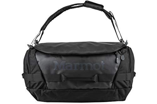 Marmot Long Hauler Duffel Bag Medium, Borsa Da Viaggio, Robusta Borsa Sportiva, Weekender Bolsa de Deporte 50 Centimeters 50 Negro (Black)