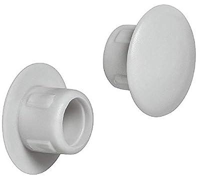 Gedotec Möbel-Abdeckkappen rundlich Schrauben-Kappen rund | H1116 von Gedotec bei Gartenmöbel von Du und Dein Garten