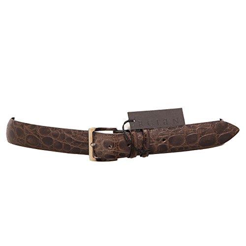 3491Q cintura ORCIANI marrone chiaro accessori uomo belt men [90 CM]