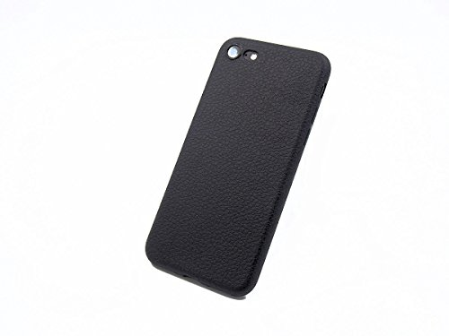 iPhone 7 Schutzhülle Ultra Slim in rot Lederoptik original smartec24® Ultra dünnes Premium Case mit extrem guter Haptik dank spezieller Oberflächenstruktur 100% perfekte Passgenauigkeit (iPhone 7 rot) iPhone 7 schwarz