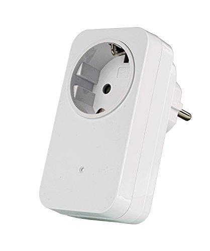 Trust Smart Home 433 Mhz Funk-Steckdosenschalter AC-1000 (1000 W) (Smart-home-stereo-receiver)