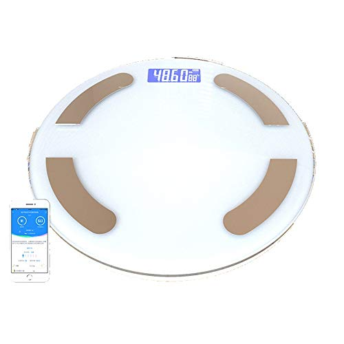 Liu Wentao Escala de pesoBásculas Digitales Digitales Precisas Carga Femenina Grasa Adulta del Peso del Cuerpo Humano Cuerpo Inteligente Escala De Peso Exacto Escala De Grasa Corporal Mas