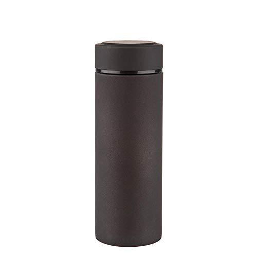 Shisky Flasche,Gefrostet gerade Auto Tasse Kaffeetasse Edelstahl Isolierung 6-12 Stunden