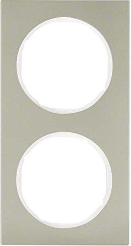 Hager 10122214 interruptor de luz Acero inoxidable - Interruptores de luz (Acero...