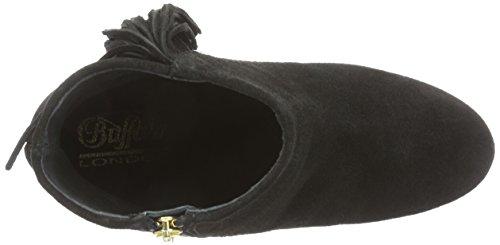 Buffalo London - 2868 Suede, Stivali Donna Nero (nero (black 01))