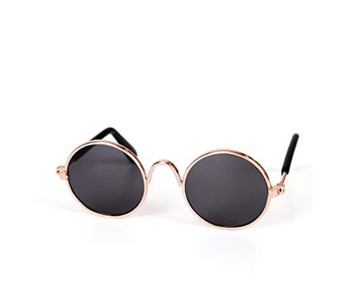 Smirk Sumer Pet Sonnenbrille Fashion Hunde Katzen Gläser Eye-Wear UV-Schutz Pet Fotos Requisiten