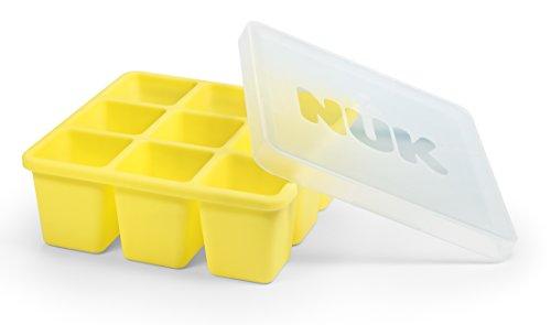 NUK 10255257 Fresh Foods Gefrierform zum Einfrieren von Babynahrung, neun Portionen à 60 ml, einzeln auftaubar, BPA frei, 1 Stück