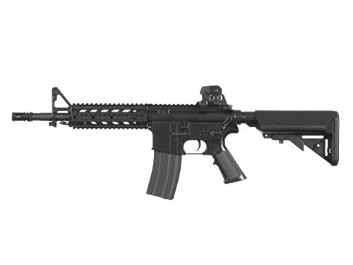 "BEGADI Eco Mark 1"" M4 Vollauto Softair/Airsoft AEG mit Metallgearbox -schwarz- < 0,5 Joule"