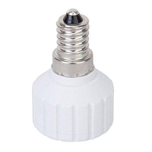 SODIAL (R) E14-GU10 Base lampadine adattatore convertitore portalampadine