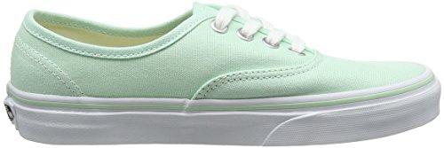 Vans Ua Authentic, Sneakers Basses Femme Vert (Bay/true White)
