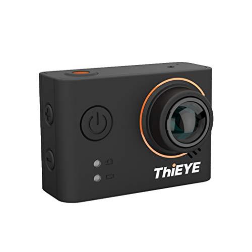 ThiEYE T3 Action Kamera Native 4K WiFi Sport DV WiFi Kamera 12MP 170 Grad Weitwinkel 2,0 Zoll Bildschirm wasserdicht 40m Sport Cam Ultra HD Video Sport Camcorder (Uhr Digital Casio Wand)