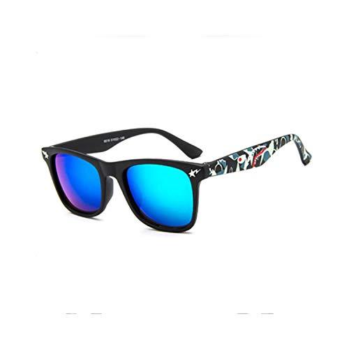 Sportbrillen, Angeln Golfbrille,Cool Baby Boy Girls Kids Sunglasses Top Fashion Coating Sunglasses Children Sun Glasses 6-3