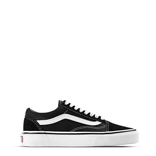 Zapatos Vans Old Skool Negro-Blanco (EU 38 / US 6, Negro)