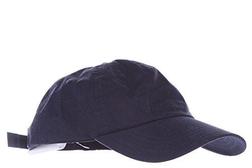 Armani Jeans cappello berretto regolabile uomo in cotone originale blu EU M 06410 T9 N5