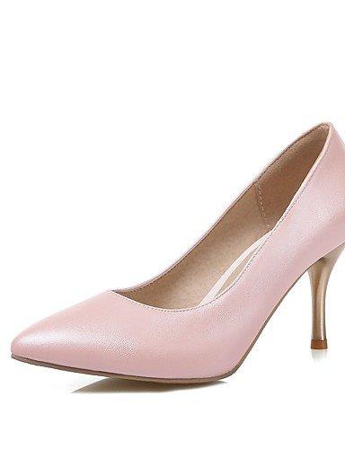 WSS 2016 Chaussures Femme-Bureau & Travail / Décontracté-Bleu / Rose / Violet / Blanc-Talon Aiguille-Talons / Bout Pointu-Talons-Polyuréthane blue-us9 / eu40 / uk7 / cn41