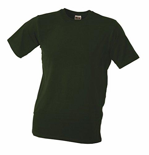 Elastic Stretch T-Shirt Olive