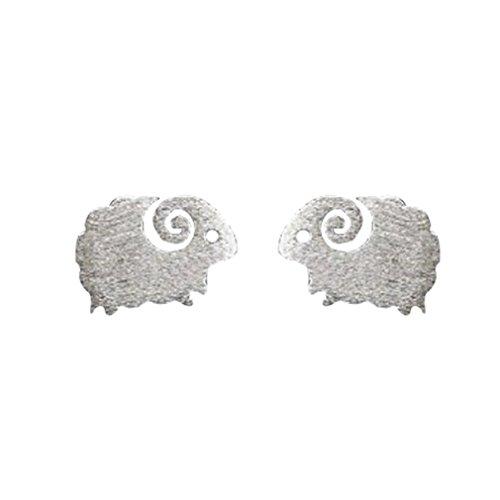 Preisvergleich Produktbild iTemer Super süße Kleine Schafe Ohrringe Elegant weibliche Ohrringe 1 Paar