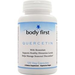 Quercetin with Bromelain 120 vcaps from BODY FIRST