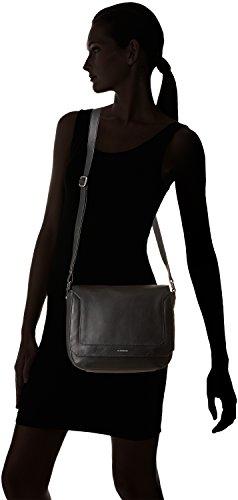 Le Tanneur frivolo, borsa a tracolla Nero (nero/nero)