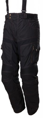 Preisvergleich Produktbild Modeka GLASGOW Wachshose Textilhose - schwarz Größe 4XL