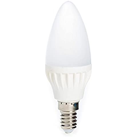 ZM Electronics Co. LED Kerze E14, 5W warmweißes Licht Leuchtmittel