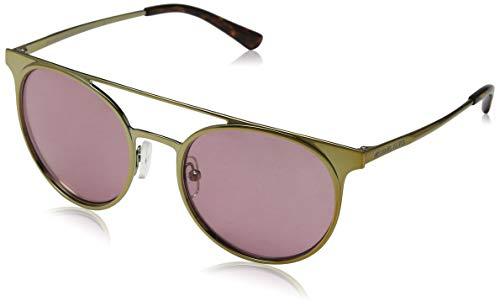 Michael kors 116884 occhiali da sole, oro (shiny pale gold/tone), 52 donna