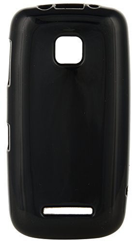 iCandy Back Cover for Nokia Asha 311 (Black)  available at amazon for Rs.109